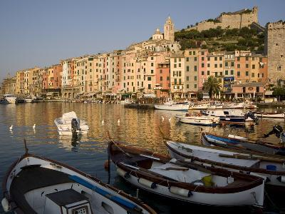 Portovenere, Cinque Terre, UNESCO World Heritage Site, Liguria, Italy, Europe