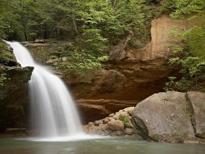 Lower Falls, Hocking Hills State Park, Ohio, United States of America, North America