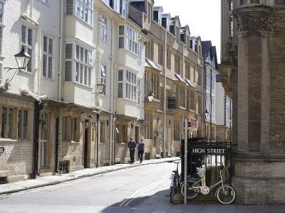 High Street, Oxford, Oxfordshire, England, United Kingdom, Europe
