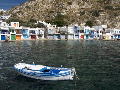 The Village of Klima, Island of Milos, Cyclades, Greek Islands, Greece, Europe