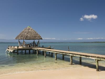 Boat Jetty, Isla Bastimentos, Bocas Del Toro, Panama, Central America