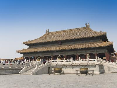 Hall of Heavenly Purity, Forbidden City, Beijing, China, Asia