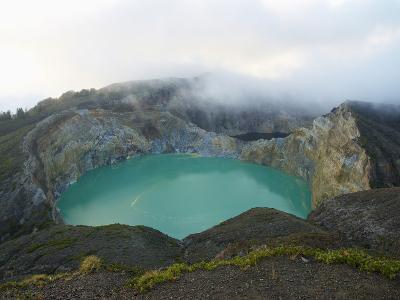 Crater of Kelimutu Volcano, 1640M, Flores Island, Indonesia, Southeast Asia, Asia