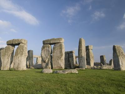 Stonehenge, UNESCO World Heritage Site, Wiltshire, England, United Kingdom, Europe