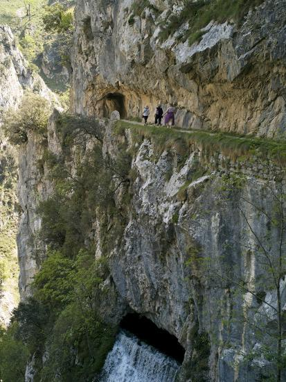 Walking The Cares Gorge Footpath Picos De Europa
