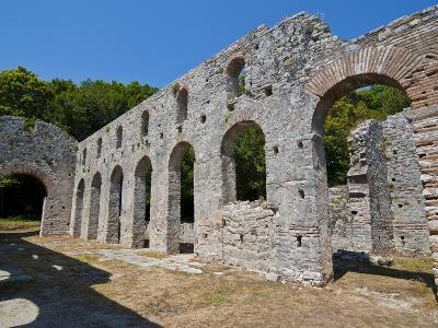 The Roman Ruins of Butrint, UNESCO World Heritage Site, Albania, Europe