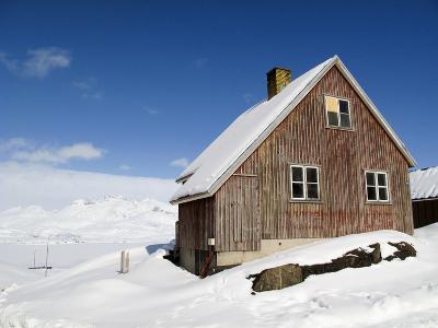 View in Tasiilaq Village, East Greenland, Polar Regions