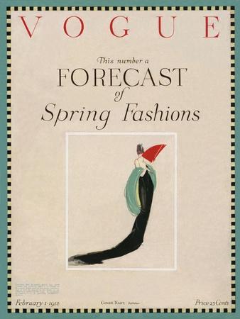 Vogue Cover - February 1918