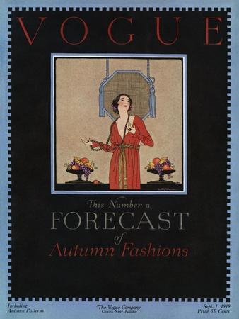 Vogue Cover - September 1919