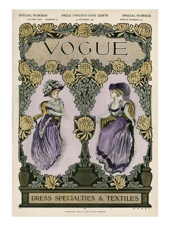 Vogue Cover - October 1907