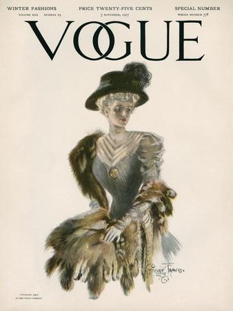 Vogue Cover - November 1907