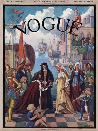Vogue Cover - December 1906