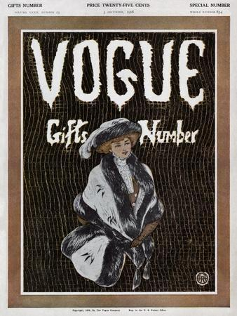 Vogue Cover - December 1908