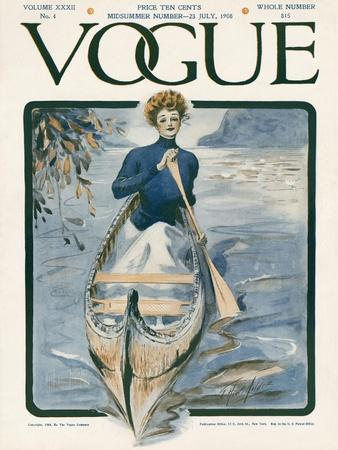 Vogue Cover - July 1908