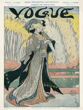 Vogue Cover - March 1908