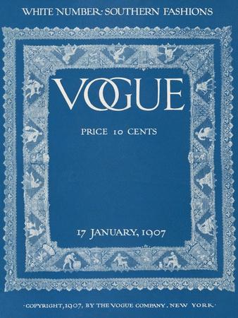 Vogue Cover - January 1907