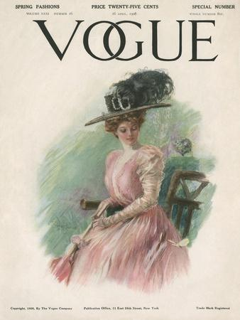 Vogue Cover - April 1908