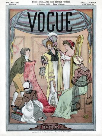 Vogue Cover - October 1908