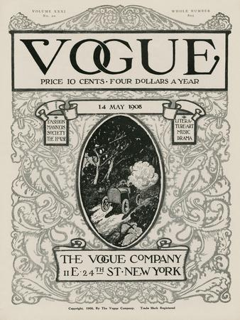 Vogue Cover - May 1908