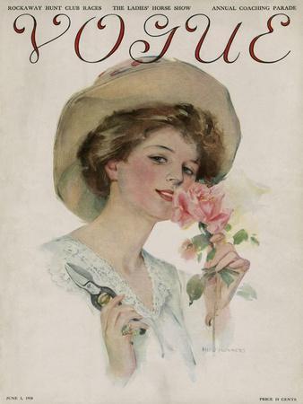 Vogue Cover - June 1910