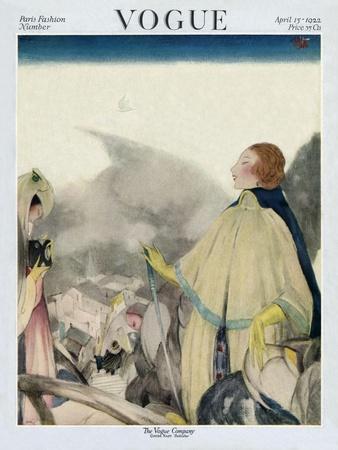 Vogue Cover - April 1922