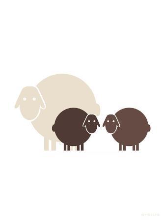 Brown Baby Sheep