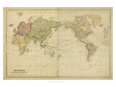 The World on Mercators Projection