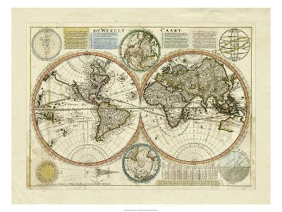 Dewerelt Caart Map