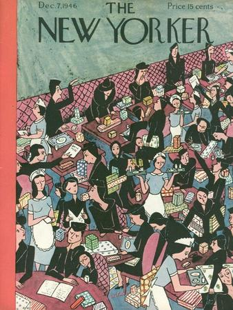 The New Yorker Cover - December 7, 1946