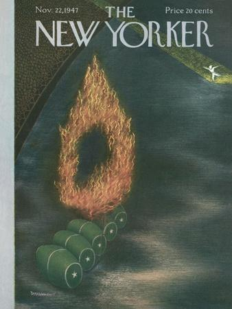 The New Yorker Cover - November 22, 1947