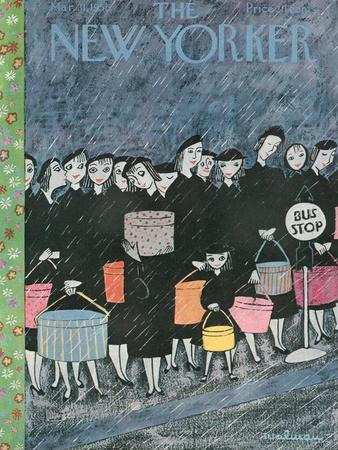 The New Yorker Cover - March 31, 1956