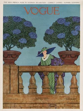Vogue Cover - June 1912
