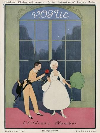 Vogue Cover - August 1912