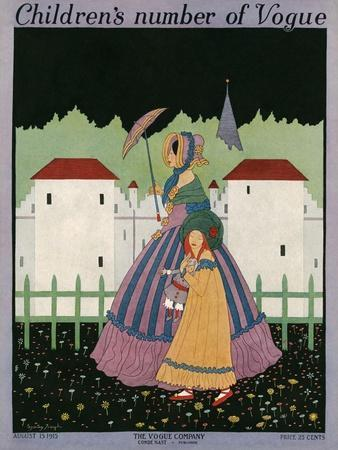 Vogue Cover - August 1915