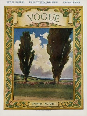 Vogue Cover - May 1905