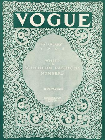 Vogue Cover - January 1908