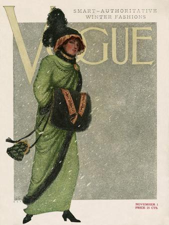 Vogue Cover - November 1910