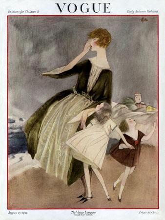 Vogue Cover - August 1922