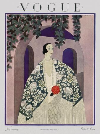 Vogue Cover - July 1924