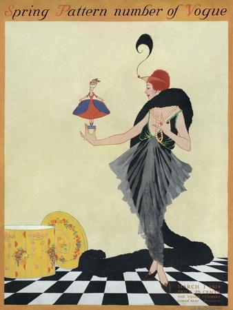 Vogue Cover - March 1914