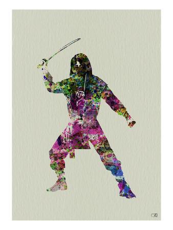 Ninja Watercolor 2