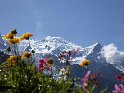 Mont Blanc, Chamonix, Haute Savoie, French Alps, France, Europe