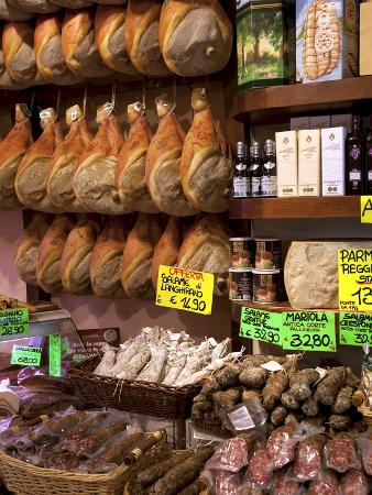 Butchers Shop, Parma, Emilia-Romagna, Italy, Europe