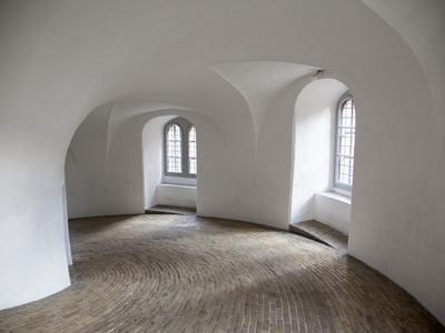 The Round Tower Interior, Copenhagen, Denmark, Scandinavia, Europe