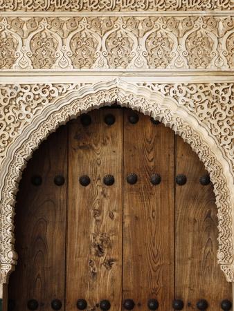 Patio De Arrayanes, Palacio De Comares, Nasrid Palaces, Alhambra, UNESCO World Heritage Site, Grana