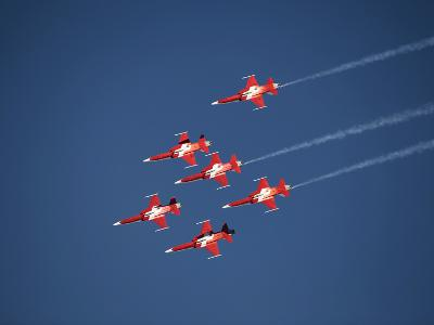 Aerobatic Team, Patrouille Swiss, Switzerland, Europe