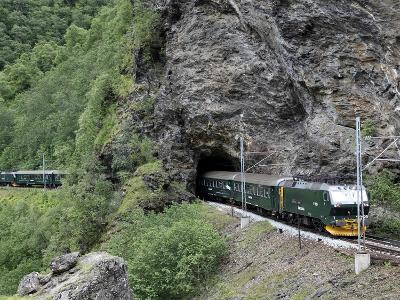 Flam Railway, Flam, Sogn Og Fjordane, Norway, Scandinavia, Europe