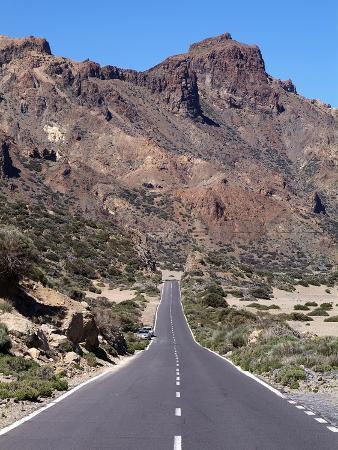 Las Canadas, Parque Nacional Del Teide, UNESCO World Heritage Site, Tenerife, Canary Islands, Spain