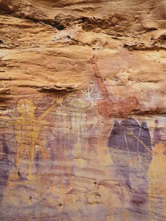Rock Art, Split Rock, Leura, Queensland, Australia, Pacific