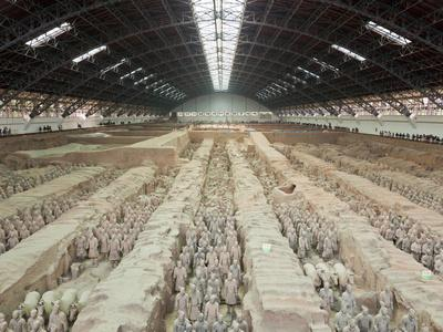 Terracotta Warriors Army, Pit Number 1, Xian, Shaanxi, China, Asia
